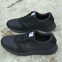 Sepatu Nike Big Size Besar 45 46 47 Abu Gelap Hitam Polos Casual Pria