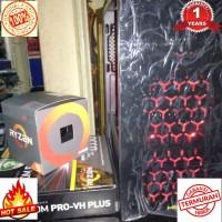 Sedang Promo Cpu gaming ryzen 5 2400 msi B350-VH PLUS