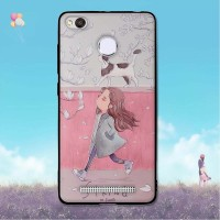 A 5.0 inch Case for Xiaomi Redmi 3X Fashion Painting Back Cover for
