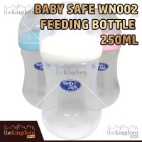 Baby Safe WN002 Wide Neck Bottle 250ml Botol Susu Anak Bayi Balita