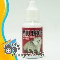 MIU Drop 30 ml - Antibiotik untuk Kucing dan Anjing
