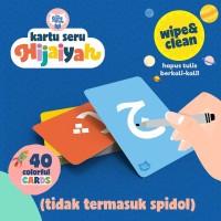 Seri Hijaiyah Flash Card / FlashCard / Kartu Bayi / Mainan Edukasi