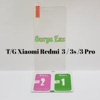 Tempered Glass Xiaomi Redmi 3 3s 3 Pro / Antigores Kaca Xioami 3s