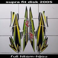 striping sticker motor supra fit disk 2005 hijau