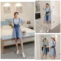 Mini Dress Import Korean Style Zaman Now.. Baju Kerja Kantor