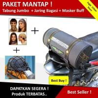 Tabung Bagasi motor / Tabung Jas Hujan Besar - Jumbo