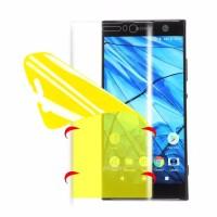 Sony XZ1 Pelindung Layar Anti Gores Hidrogel Sony XZ1 Full Nano Film