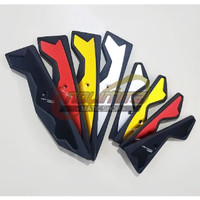 Floorboard Bordes Karpet Pijakan Kaki Black Diamond Eropa Yamaha NMAX