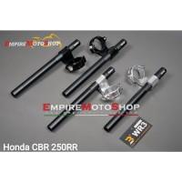 Stang Jepit WR3 CBR 250 RR CBR250RR Clip On Model Moto2 51mm