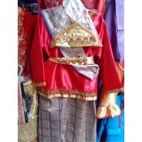 Baju Adat Lampung Anak Perempuan Kostum Karnaval Kartinian Nasional