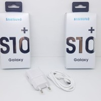Charger Samsung S10+ QC 3.0 QUALCOMM Kabel Data Type C FAST CHARGING
