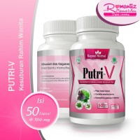 Obat Kesuburan Wanita Promil BPOM - PUTRI V
