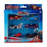 Ciustoys DIecast Avenger 6pcs - Mainan Dan Koleksi Mobil Anak