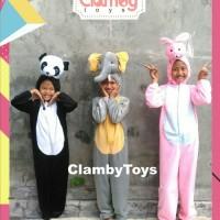Boneka Maskot/Baju Kostum Badut Anak Karakter Hewan | Animal Costum
