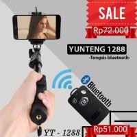 Tongsis Yunteng Bluetooth Yt-1288 Free Holder U Universal