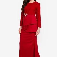 Baju wanita Pleated Kurung Modern
