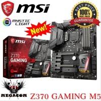 MSI Z370 GAMING M5 MOTHERBOARD - INTEL Z370 GAMING M5 NEW Berkualitas