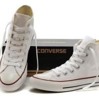 Sepatu Converse High 4 warna FULL HITAM HITAM PUTIH FULL PUTIH ABU