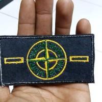 patch emblem bordir badge stone island