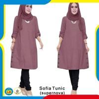 LM 62301 SOFIA TUNIC JUMBO Fashion Baju Wanita Model