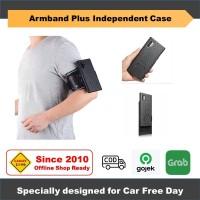 Samsung Note 10 10 Plus Casing Armband Hybrid Case