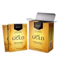 [BPOM] HANASUI Anti Aging Peel Off Mask 10g GOLD MASKER 1 Sachet