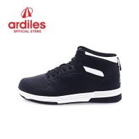Ardiles Men Crimson Sepatu Basket - Hitam Putih