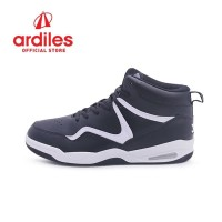 Ardiles Men Rexton Sepatu Basket - Hitam Putih