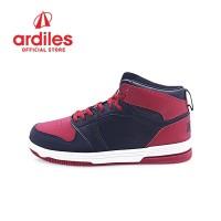 Ardiles Men Crimson Sepatu Basket - Hitam Merah