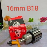 kepala bor 16mm b18 tokiwa - kepala bor 16mm b18 sanou - chuck drill