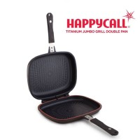 Happy Call Titanium Jumbo Grill Double Pan 30cm - ORIGINAL