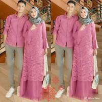 Jual Baju couple pria motif keren terbaru dress gamis wanita muslimah