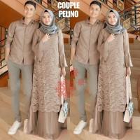 Baju Couple Muslim Gamis Koko Pasangan Trendy
