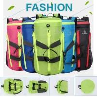 Foldable Travel Bag / Tas Travel / Tas GYM Ransel Selempang
