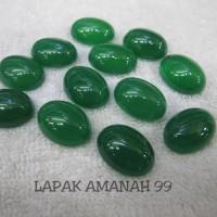 Batu Akik Natural Green Chalcedony - Hijau Garut - Bacan - Bergiwang
