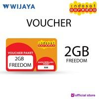 VOUCHER INDOSAT 2GB FREEDOM   VOUCHER DATA FISIK