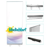 Roll Up Banner Stainless | Standing Banner | 60x160 | 80x200 | 85x200