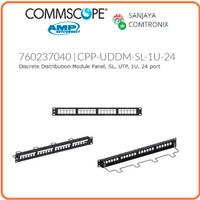 AMP COMMSCOPE 760237040 Discrete Panel / Patch Panel 24 port Unloaded