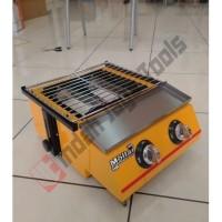 MOLLAR 2 TUNGKU Roaster Kompor Gas Pemanggang - Panggangan BBQ