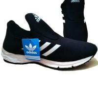 Sepatu Pria Running Sport Adidas Grade Ori Slip On - Slop