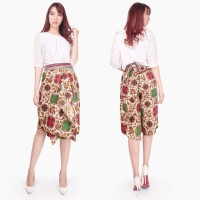 Celana pendek kulot rok nerisa batik Wanita