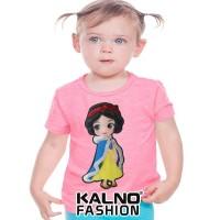 kaos baju anak PRINCES Random umur 1-7 tahun, baju anak karakter