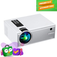 CHEERLUX C8 with TV Tuner - Mini LED Projector 1800 Lumens 1080p