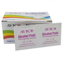 ALCOHOL PADS avico 70% isopropyl alcohol (tissue alkohol) 100pcs