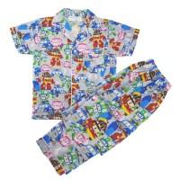 Baju Anak / Piyama Anak / Short Sleeve Set 3T - 10T - Robocar Poli