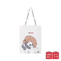 Miniso Official tas shopping We Bare Bears Lazy Shopping Bag - Panda