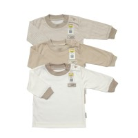 FLUFFY Baju Oblong Panjang Rib (Isi 3Pcs) OJS KKI S/M/L