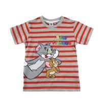 KIDS ICON - Kaos Anak Laki - laki Tom & Jerry With Stripe TM1K0600190