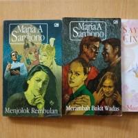 Novel Maria A Sardjono harga @40.000,-