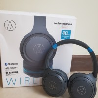 Jual Headphone Wireless Audio Technica ATH S200BT second